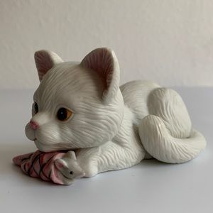 Vintage Enesco Cat Figurine
